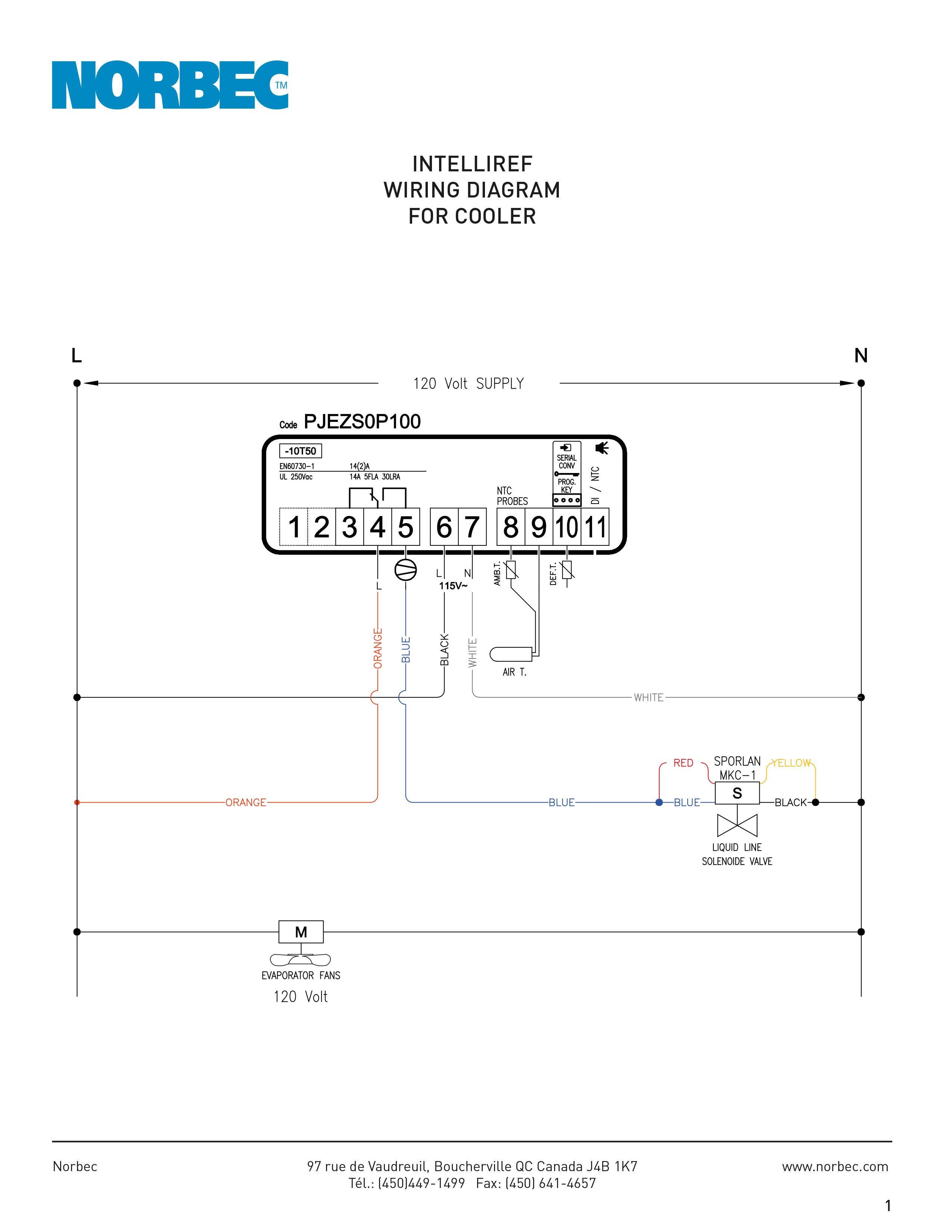 Intelliref - Wiring Diagrams