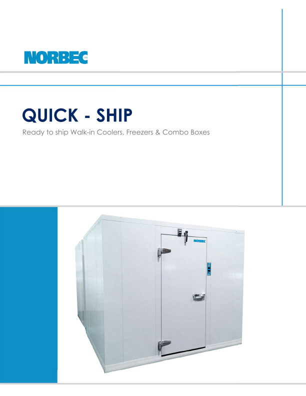 Quick ship Walk-Ins Brochure