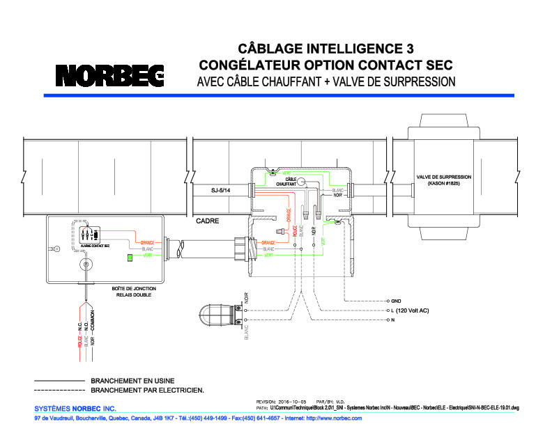 Module I3 – Dessin congélateur