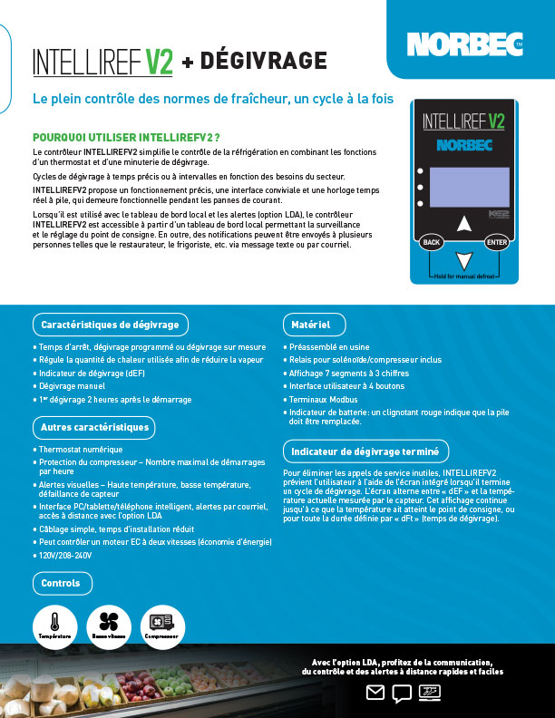 Intelliref V2 – Fiche de vente