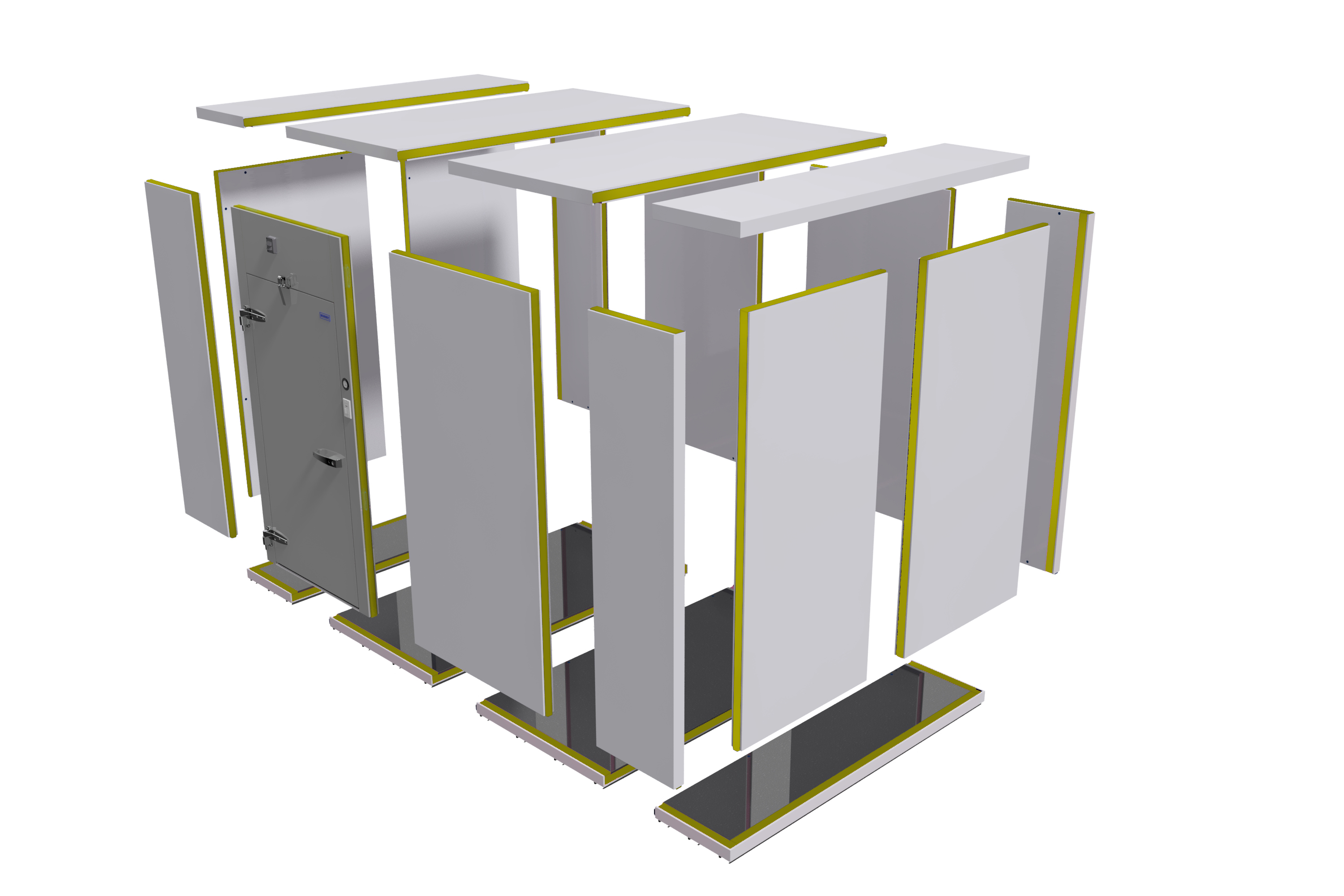 Walk In Cooler Panels >> Walk In Coolers Freezers Camlock Polyurethane Panels