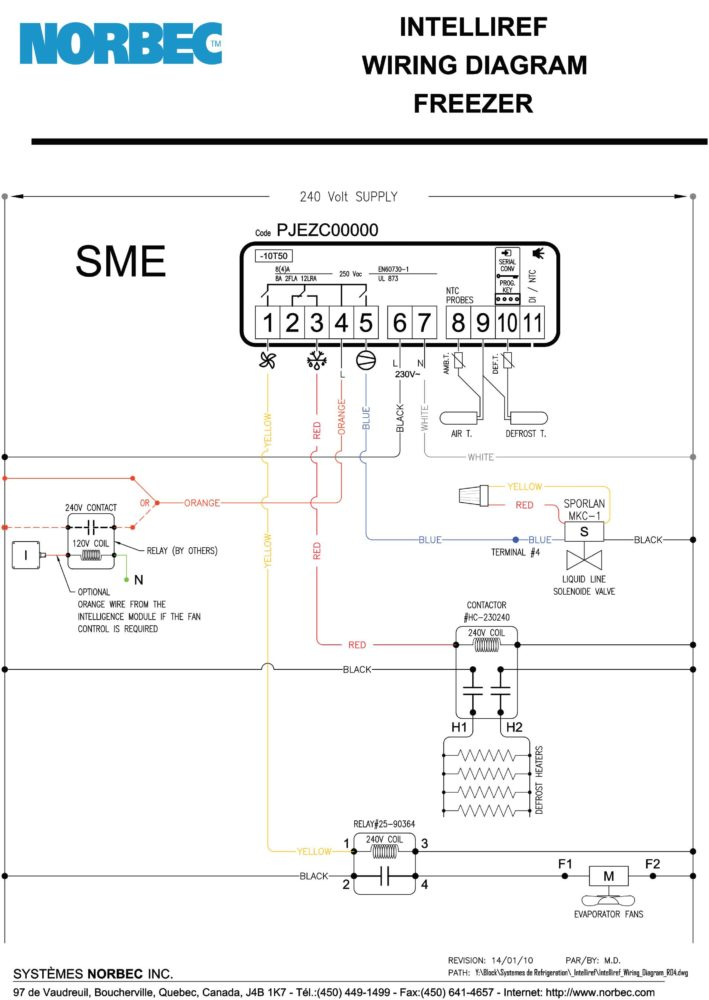 Intelliref Wiring Diagram