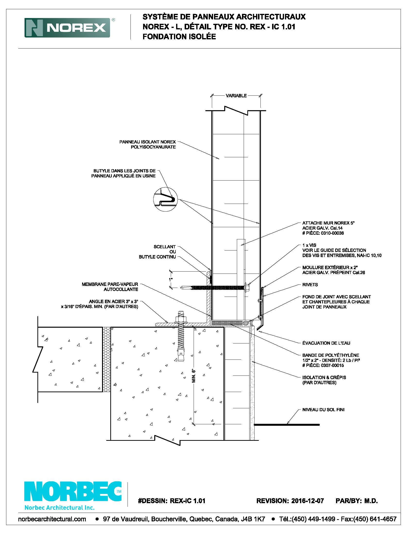 Norbec CAD Document