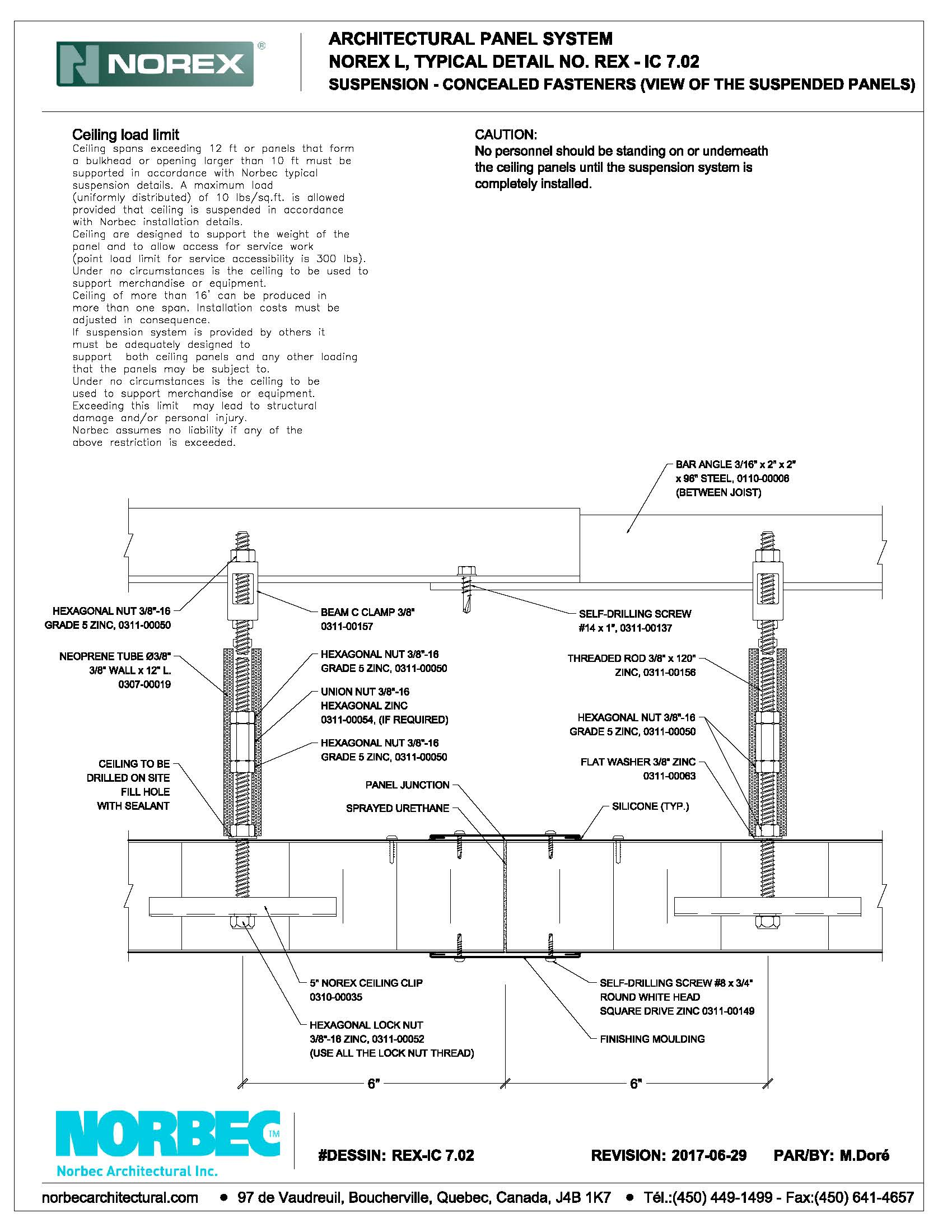 Norbec CAD Document