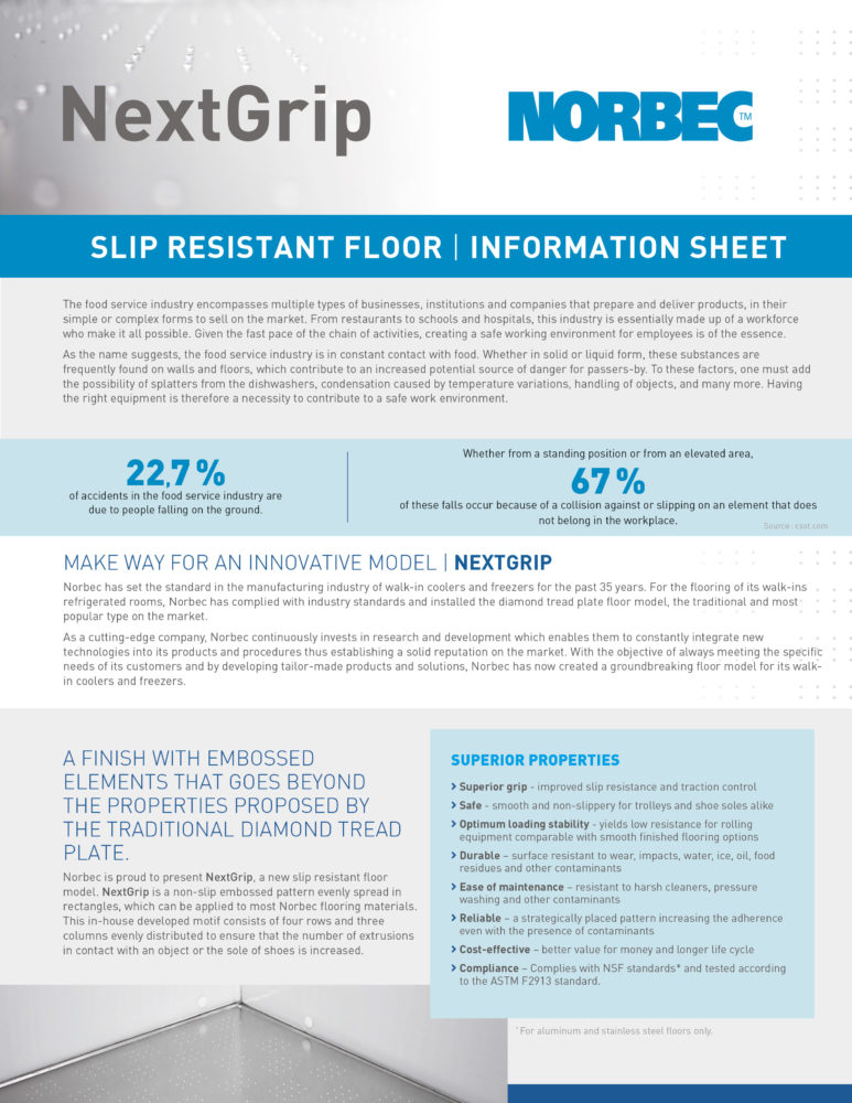 NextGrip Information Sheet