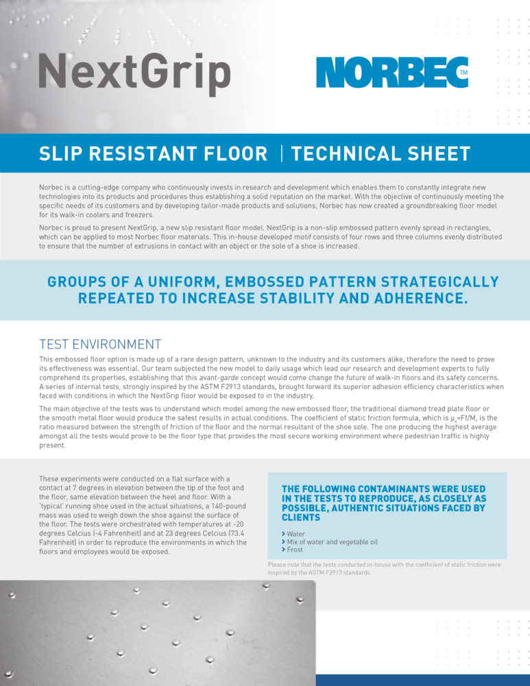 NextGrip Technical Sheet