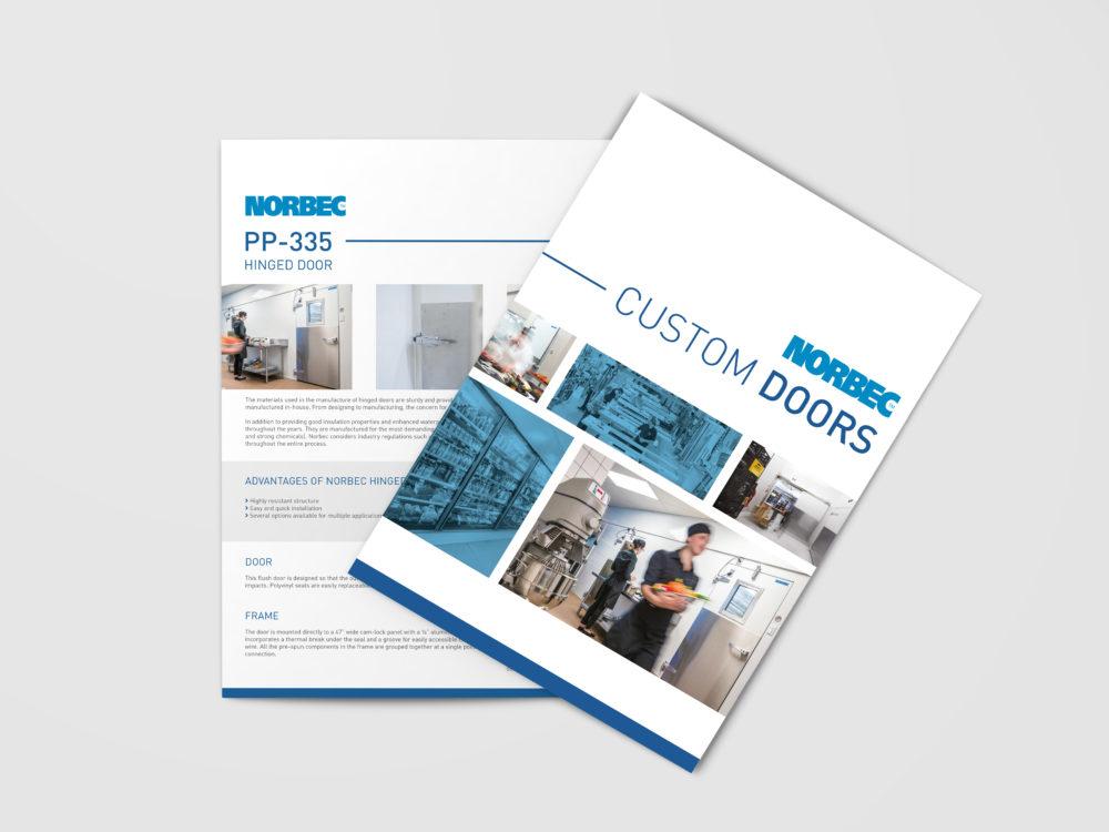 New Door Brochure and Individual Technical Sheets - Norbec