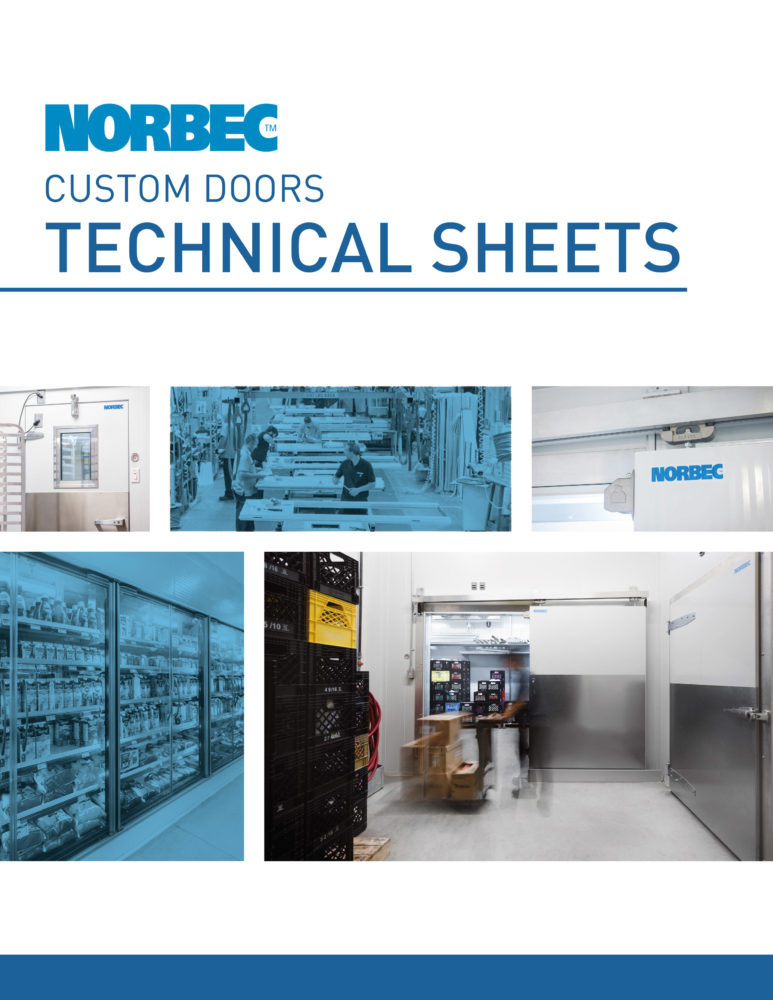 Door Technical Sheets – Complete Range