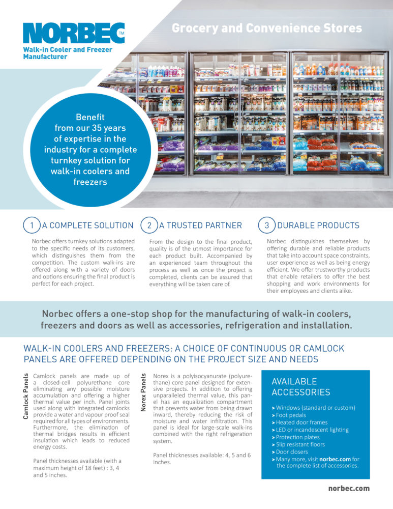 Grocery and Convenience Stores – Information Sheet