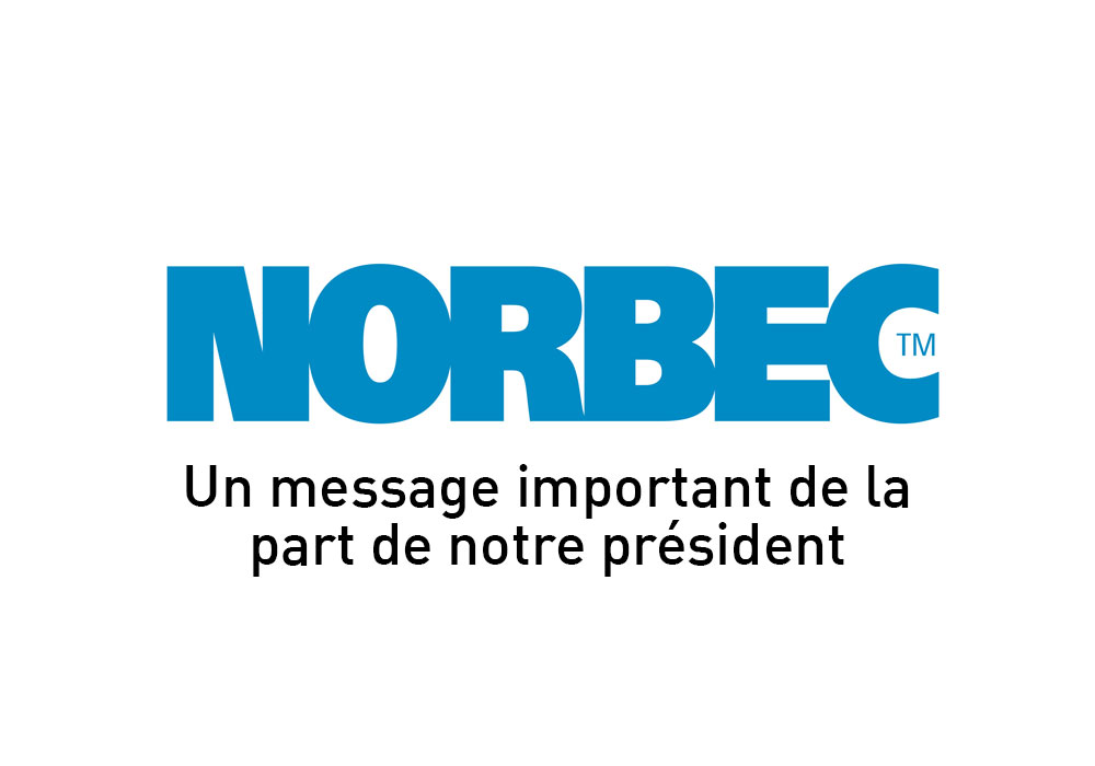 Norbec logo annonce message