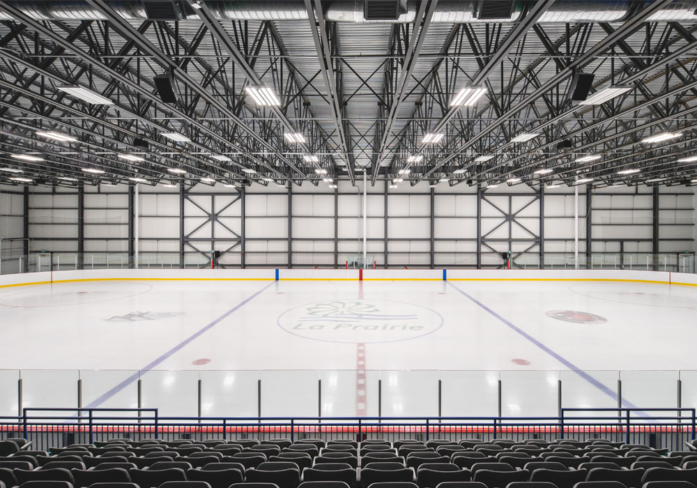 Norbec Norex-L installed arena de LaPrairie