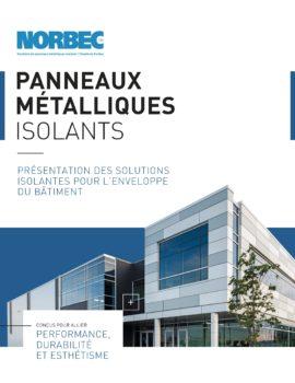 Brochure des panneaux metalliques isolants de Norbec