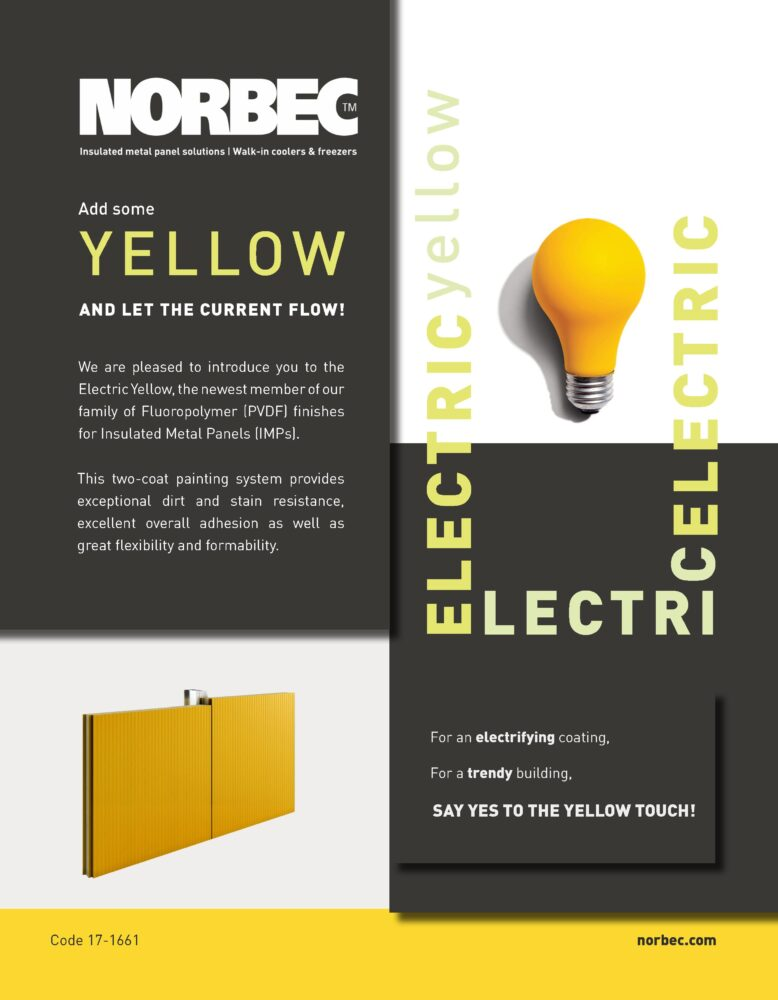 Electric Yellow – One Pager