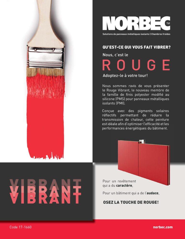Rouge vibrant – Fiche